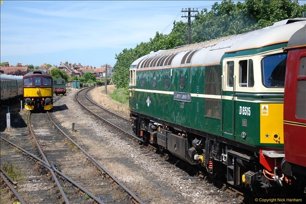 2017-06-13 SR first return service Swanage - Warehan - Swanage.  (246)246