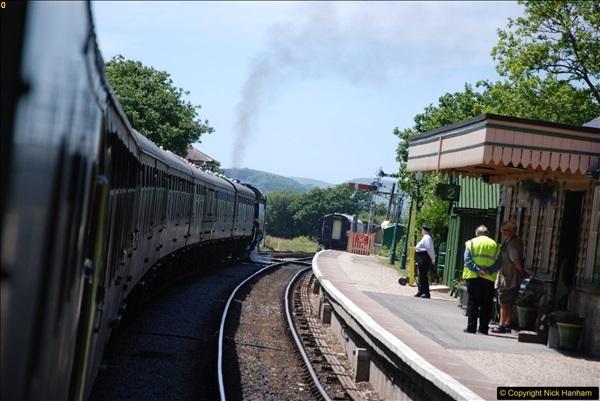 2017-06-13 SR first return service Swanage - Warehan - Swanage.  (272)272