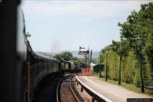 2017-06-13 SR first return service Swanage - Warehan - Swanage.  (275)275