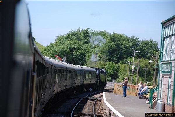 2017-06-13 SR first return service Swanage - Warehan - Swanage.  (281)281