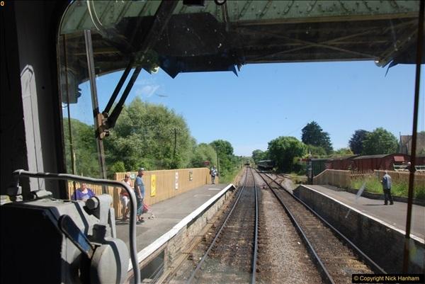 2017-06-13 SR first return service Swanage - Warehan - Swanage.  (296)296