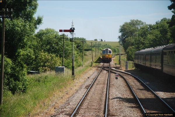 2017-06-13 SR first return service Swanage - Warehan - Swanage.  (299)299