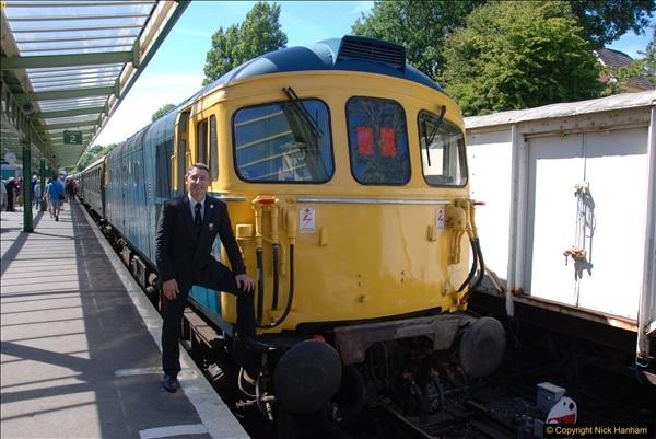 2017-06-13 SR first return service Swanage - Warehan - Swanage.  (373)373