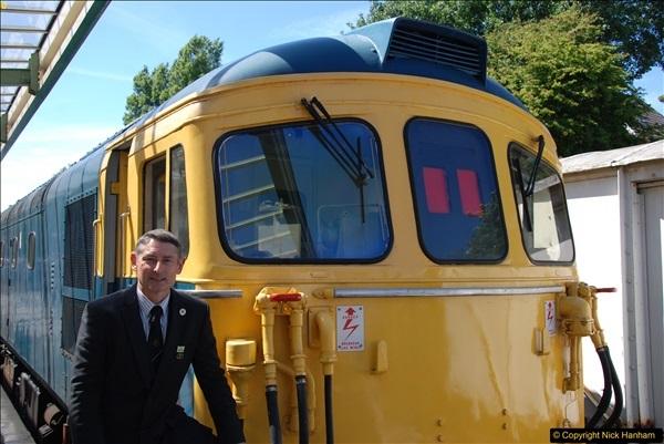 2017-06-13 SR first return service Swanage - Warehan - Swanage.  (374)374