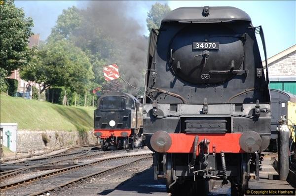 2017-06-13 SR first return service Swanage - Warehan - Swanage.  (375)375