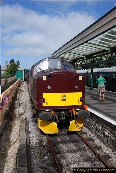 2017-06-13 SR first return service Swanage - Warehan - Swanage.  (69)069