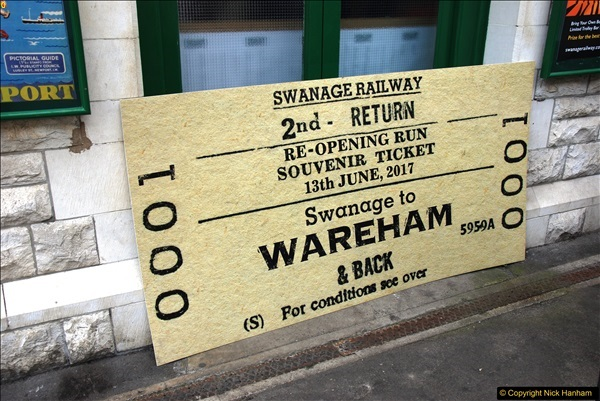 2017-06-13 SR first return service Swanage - Warehan - Swanage.  (86)086