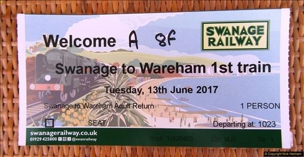 2017-06-13 SR first return service Swanage - Warehan - Swanage.  (11)011