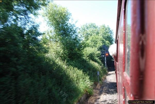 2017-06-13 SR first return service Swanage - Warehan - Swanage.  (157)157