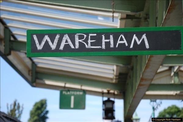 2017-06-13 SR first return service Swanage - Warehan - Swanage.  (226)226