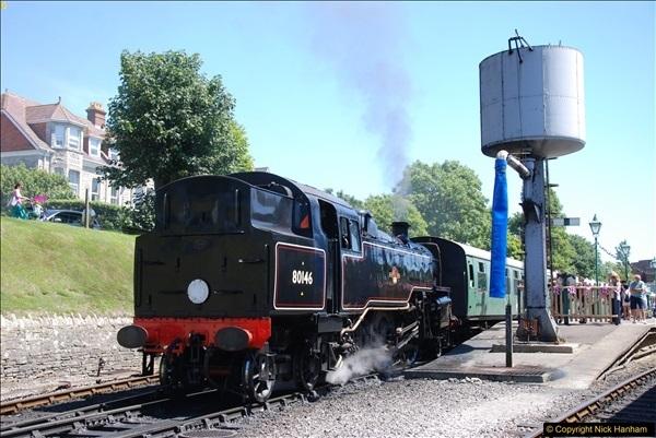 2017-06-13 SR first return service Swanage - Warehan - Swanage.  (255)255