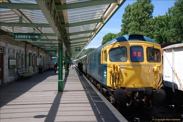 2017-06-13 SR first return service Swanage - Warehan - Swanage.  (256)256