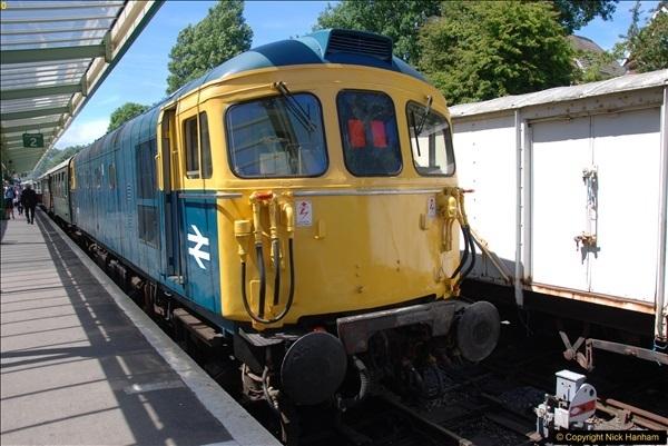 2017-06-13 SR first return service Swanage - Warehan - Swanage.  (262)262
