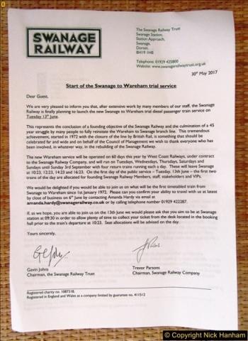2017-06-13 SR first return service Swanage - Warehan - Swanage.  (4)004