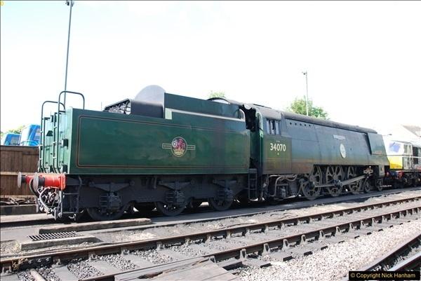 2017-06-13 SR first return service Swanage - Warehan - Swanage.  (48)048