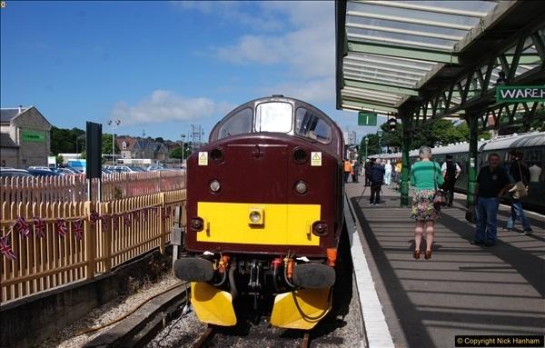 2017-06-13 SR first return service Swanage - Warehan - Swanage.  (66)066