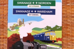 2017-06-13 SR first return service Swanage - Warehan - Swanage.  (7)007
