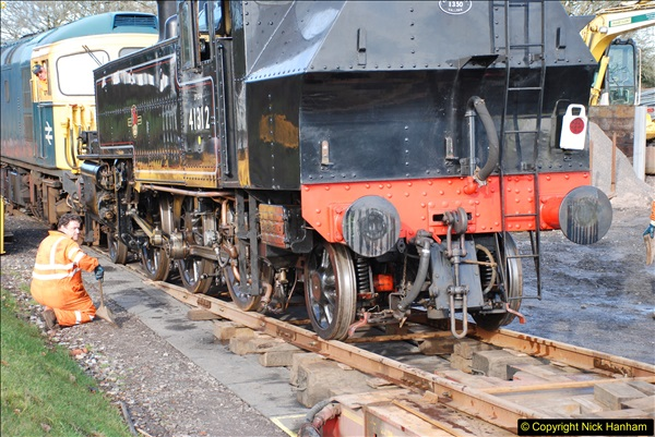 2018-02-01 SR Close down period - out and about the railway.  (117)117
