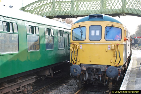 2018-02-01 SR Close down period - out and about the railway.  (91)091