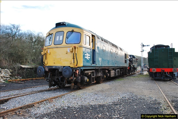 2018-02-01 SR Close down period - out and about the railway.  (99)099