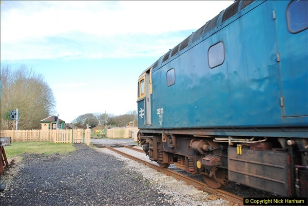 2018-02-01 SR Close down period - out and about the railway.  (100)100