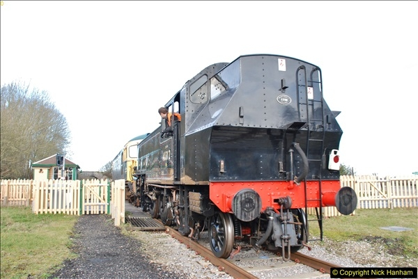 2018-02-01 SR Close down period - out and about the railway.  (101)101