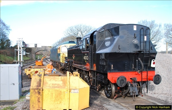2018-02-01 SR Close down period - out and about the railway.  (111)111