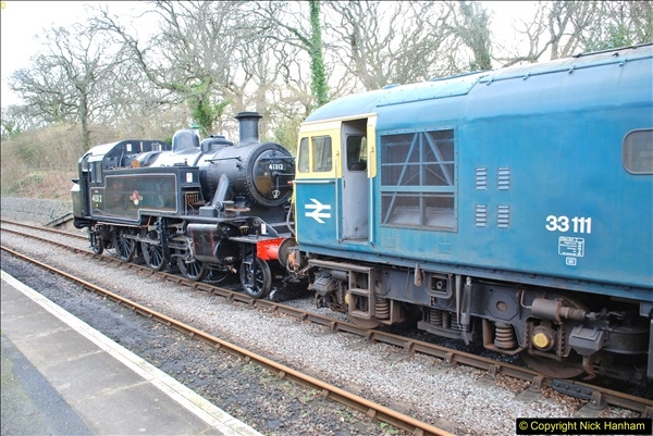 2018-02-01 SR Close down period - out and about the railway.  (86)086