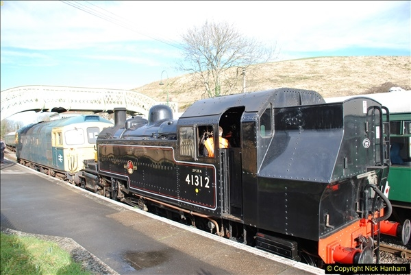 2018-02-01 SR Close down period - out and about the railway.  (90)090