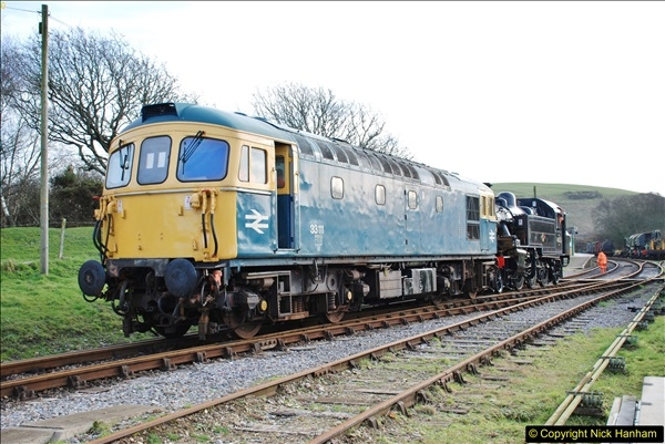 2018-02-01 SR Close down period - out and about the railway.  (97)097