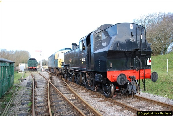 2018-02-01 SR Close down period - out and about the railway.  (98)098