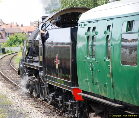 2015-06-27 SR Purbeck at War & Armed Forces Weekend.  (242)242