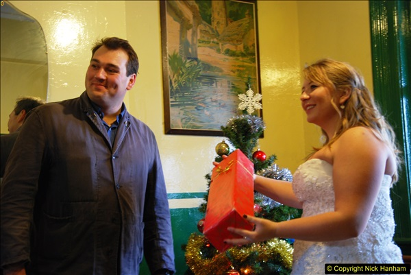 2014-12-20 Four Santas and Wedding (Almost).  (266)266