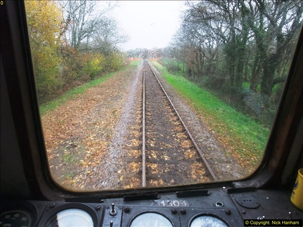 2015-12-06 Driving the DMU on Santa Special.  (65)065