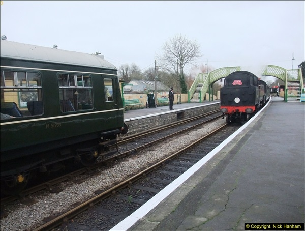 2015-12-06 Driving the DMU on Santa Special.  (80)080