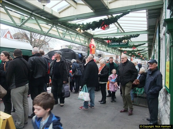 2015-12-06 Driving the DMU on Santa Special.  (85)085