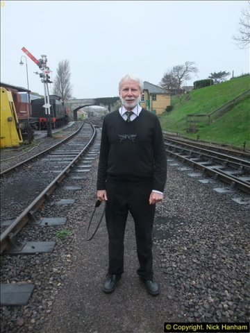 2015-12-06 Driving the DMU on Santa Special.  (99)099