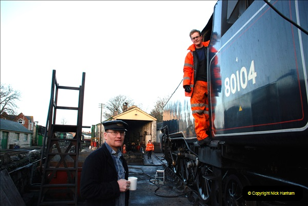 2018-12-08 Santa Specials at Swanage and Norden.  (1)001