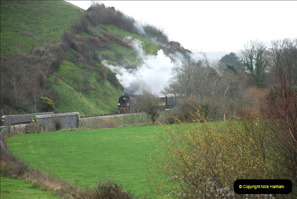 2018-12-08 Santa Specials at Swanage and Norden.  (105)105