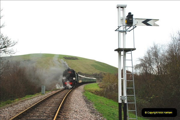 2018-12-08 Santa Specials at Swanage and Norden.  (112)112