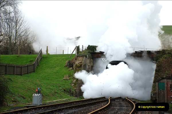 2018-12-08 Santa Specials at Swanage and Norden.  (116)116