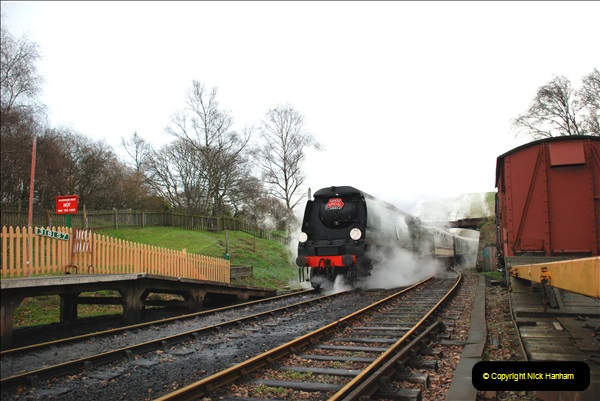 2018-12-08 Santa Specials at Swanage and Norden.  (118)118