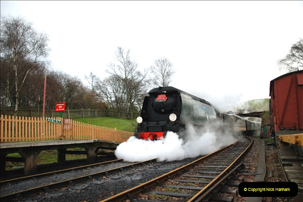 2018-12-08 Santa Specials at Swanage and Norden.  (119)119
