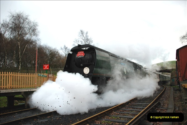 2018-12-08 Santa Specials at Swanage and Norden.  (120)120