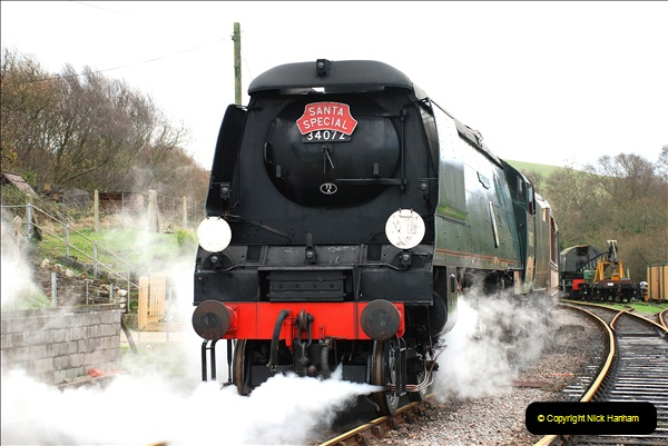 2018-12-08 Santa Specials at Swanage and Norden.  (122)122