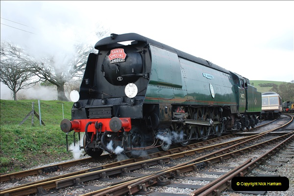 2018-12-08 Santa Specials at Swanage and Norden.  (125)125
