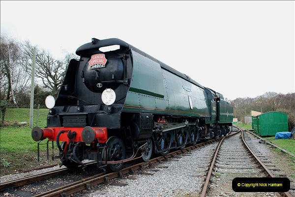 2018-12-08 Santa Specials at Swanage and Norden.  (128)128