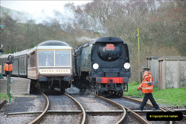 2018-12-08 Santa Specials at Swanage and Norden.  (131)131