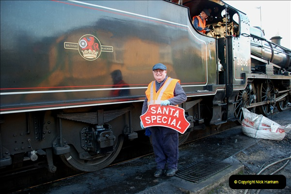 2018-12-08 Santa Specials at Swanage and Norden.  (17)017