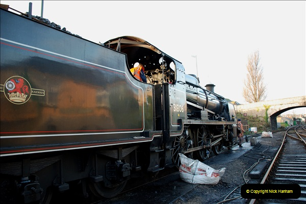 2018-12-08 Santa Specials at Swanage and Norden.  (19)019